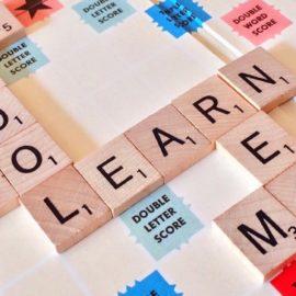 Online language learning using Google tools